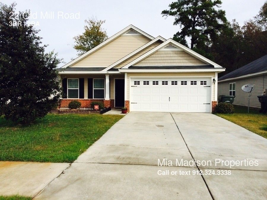 22 old mill rd port wentworth ga 31407 for Port wentworth