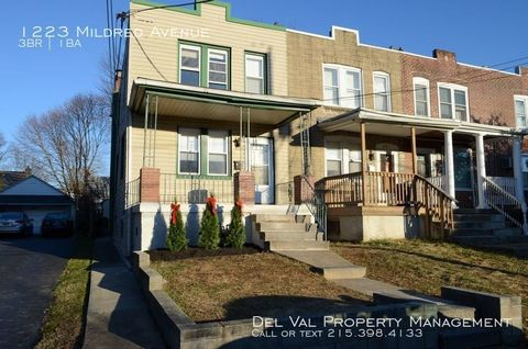 Photo of 1223 Mildred Ave, Woodlyn, PA 19094