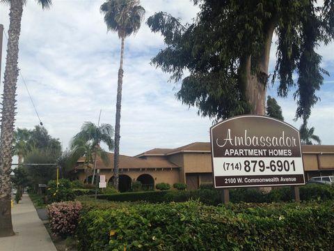 2100 W Commonwealth Ave, Fullerton, CA 92833