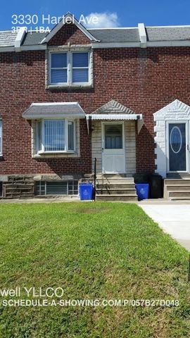 3330 Hartel Ave, Philadelphia, PA 19136