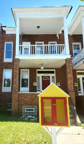 Photo of 2429 Linden Ave Unit 1, Baltimore, MD 21217