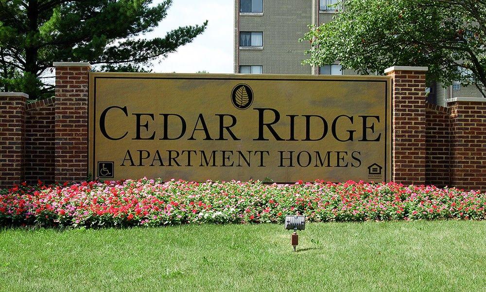 Cedar Ridge Apartment Homes Richton Park Il