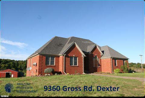 9360 Gross Rd, Dexter, MI 48130