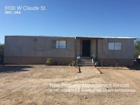 9100 W Claude St, Tucson, AZ 85735