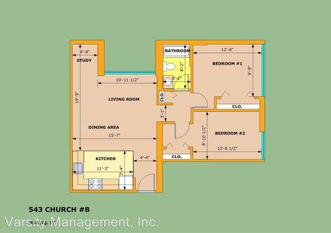 Photo of 543 Church St, Ann Arbor, MI 48104