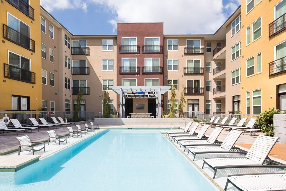 New Apartments In The Domain Austin Tx