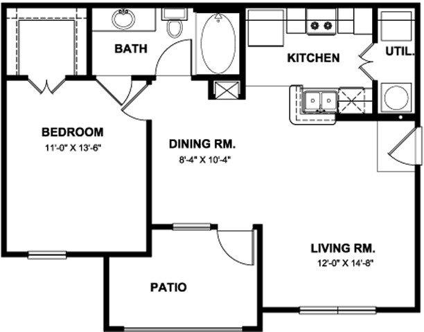 Apartments for Rent at Boulder Creek Apartments - 12330 Vance ...