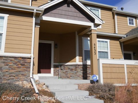 5433 Lester Aly, Colorado Springs, CO 80924