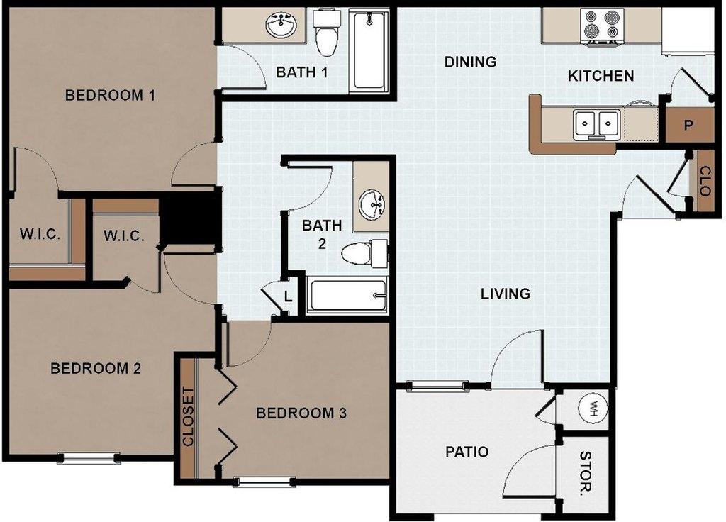 Vida Que Canta Apartments 507 S Inspiration Rd Apartment For Rent Doorsteps