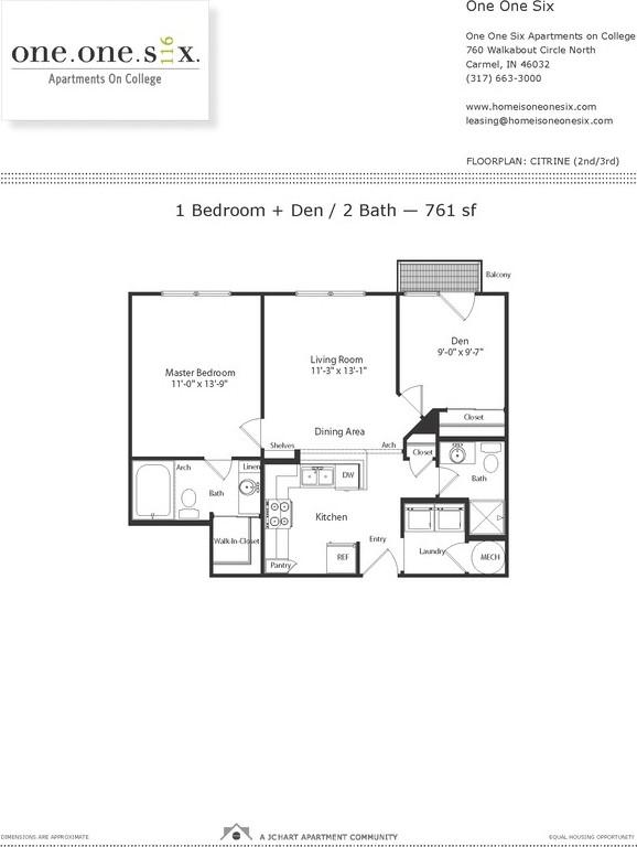 One One Six Apartments On College   760 Walkabout Cir N