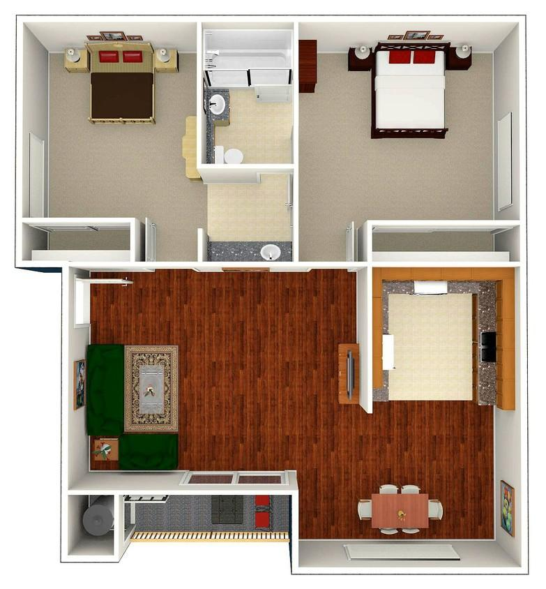 Veranda Apartment for Rent at Highland Pinetree Apartments in ...