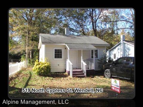 519 N Cypress St, Wendell, NC 27591