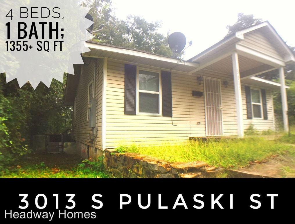 3013 S Pulaski St, Little Rock, AR 72206