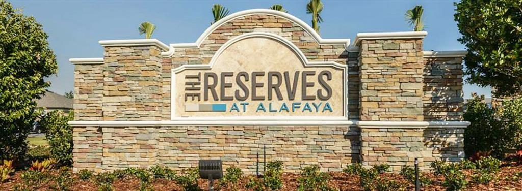 Reserves at Alafaya
