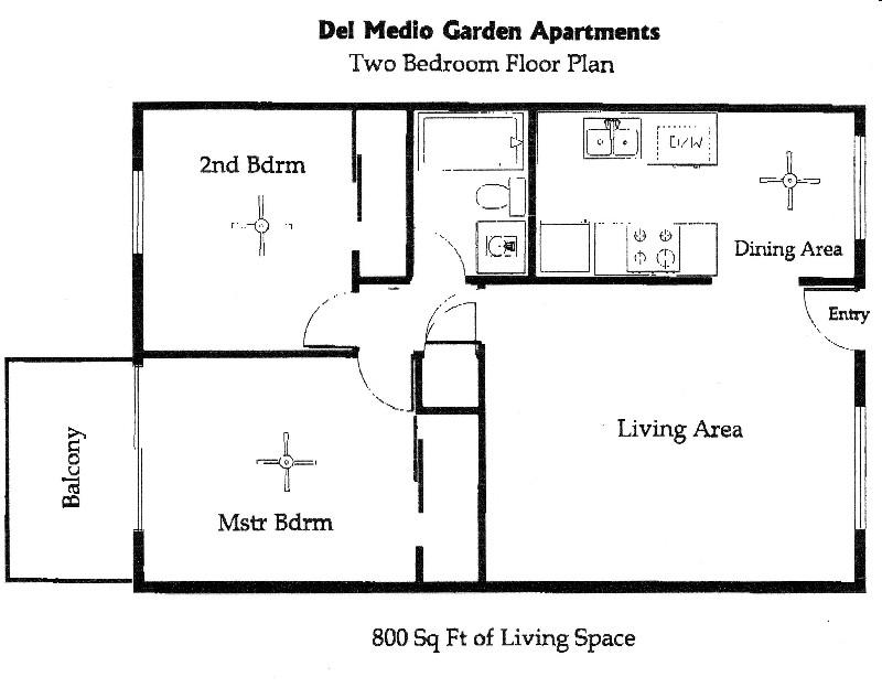 Del Medio Garden Apartments 250 Del Medio Ave