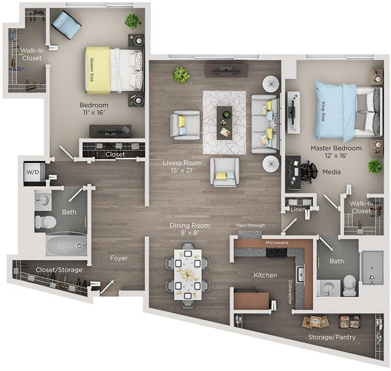 Renaissance City Club Apartments 555 575 Brush Ave Apartment For Rent