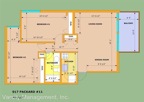 Photo of 917 Packard St, Ann Arbor, MI 48104