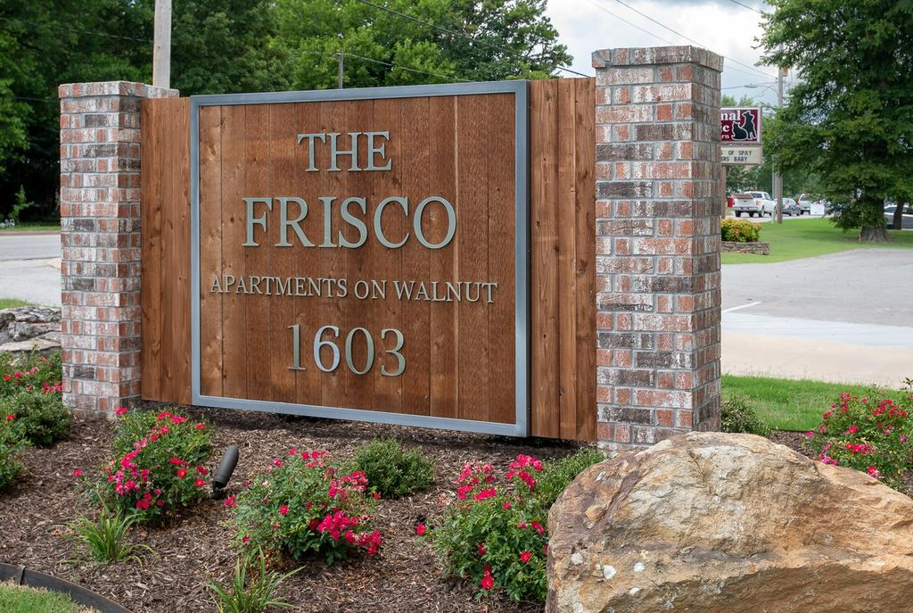 The Frisco Apartments on Walnut