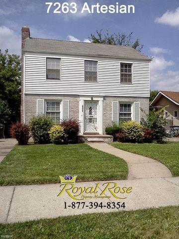 7263 Artesian St, Detroit, MI 48228