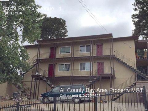 4624 Fairfax Ave, Oakland, CA 94601