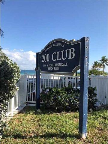 1200 N Fort Lauderdale Beach Blvd, Fort Lauderdale, FL 33304
