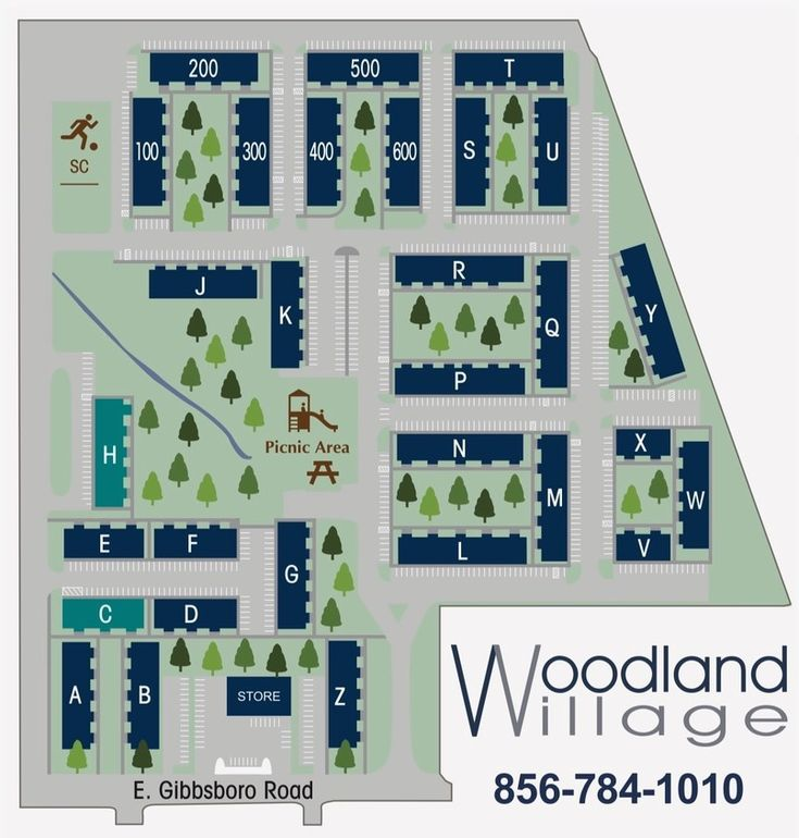 Woodland Village Apartments: 401 E Gibbsboro Rd, Lindenwold, NJ 08021