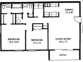 BR BATH Apartment For Rent At Meadow Green Fernwood - Meadow green apartments spartanburg sc