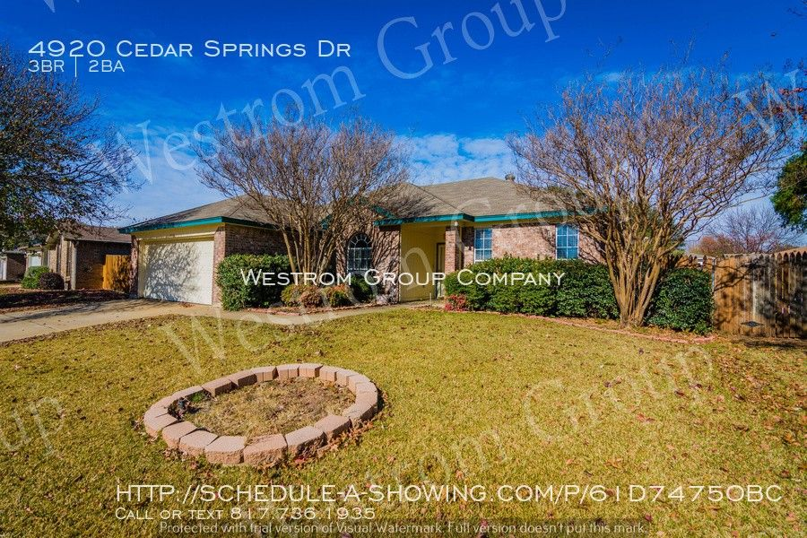 4920 Cedar Springs Dr, Fort Worth, TX 76179