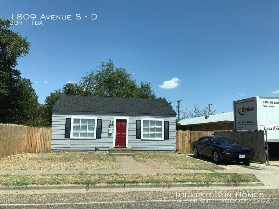 1809 Avenue S, Lubbock, TX 79401
