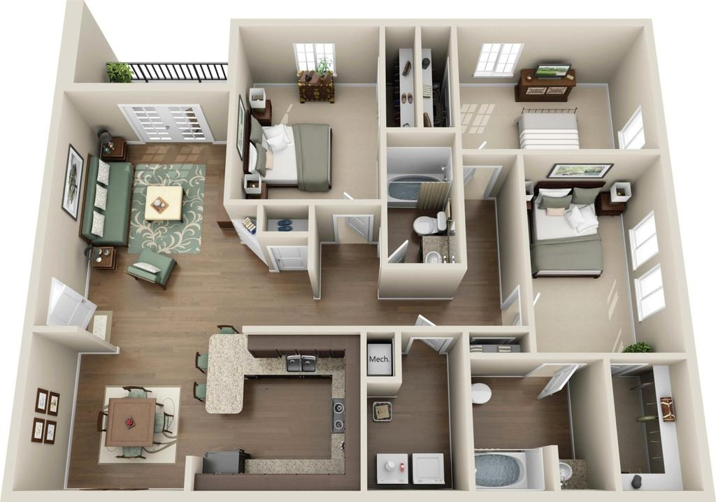 Valley Farms Apartments | 10200 Renaissance Valley Way | Apartment For Rent  | Doorsteps.com