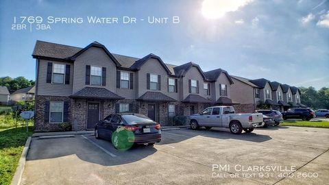 Photo of 1769 Spring Water Dr Apt B, Clarksville, TN 37040